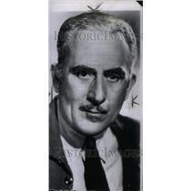 1947 Press Photo ohn Halliday American Actor Louis Rain - RRU40371
