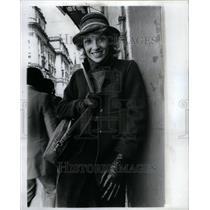 1981 Press Photo Kay Richards, TV Hostess. - RRU40747