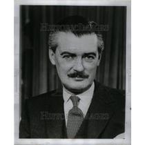 1950 Press Photo Actor Hugh Williams - RRU43645