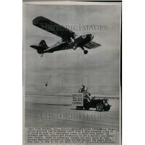 Press Photo Airplane endurance flight record - RRU34519