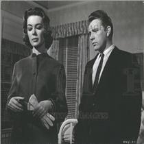 1960 Press Photo Actors Barbara Rush And Richard Burton - RRY05565