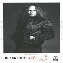 1983 Press Photo Rick Medlockie Blackfoot Lynyrd Rock - RRY23999