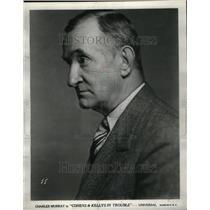 1939 Press Photo Charles Murray/Actor/Silent Films - RRU36663