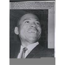 1962 Press Photo James H. Meredith was all smiles for photographers - RSH01033