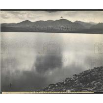 1912 Press Photo Marshall Reservoir View From dam - RRY48871