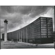 1973 Press Photo Ten Story Modern Hare Airport Hotel - RRV43761