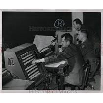 1958 Press Photo Michigan National Guard Aircraft warm - RRW00535