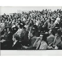 1973 Press Photo Pornography Course, School for Social Research