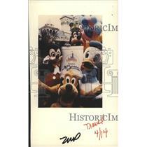 1985 Press Photo Disneyland - RSH00239