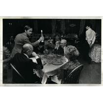 1981 Press Photo grand Italian dinner Cafe Provencal - RRX21417
