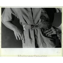 1984 Press Photo Fashion belts - RRW04425