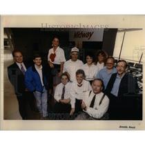 1992 Press Photo Former Midway agents gather - RRU98757