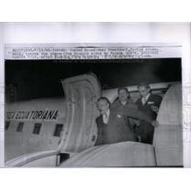 1963 Press Photo Ecuadorean President carols Arosemena - RRX19225