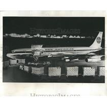 1963 Press Photo Pan American Freighter - RRW52091
