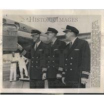 1961 Press Photo Hijacked Eastern Air Lines Crew - RRV43193