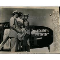 1945 Press Photo P-61C Aircraft Hammer Field Fort Worth - RRX18107