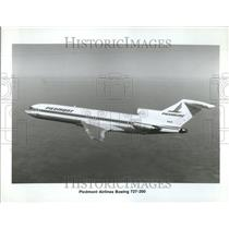 Press Photo Piedmont Airline Boeing Airoplane Water - RRV65487
