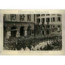 1926 Press Photo Eucharistic Congress Roman Catholic - RRU22687