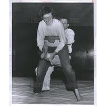 1957 Press Photo Otto Chanko Patricia Oliver Martial - RRU11753