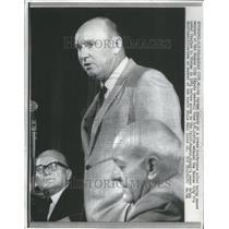 1968 Press Photo Joe Gordon Manager Kansas City Royals - RRU11763