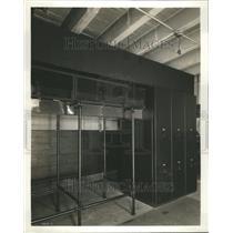 1935 Press Photo AC Presses Detroit News Main Cubicles - RRU09957