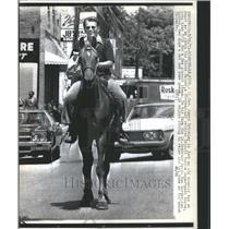 1973 Press Photo LT Gov James Brickley Detroit Police - RRU09787