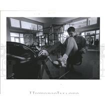 1990 Press Photo David Wilkie, Hockey, Montreal Canadiens  - RSH34859