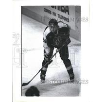 1992 Press Photo David Wilkie Kamloops Blazers Montreal Canadiens NHL Hockey