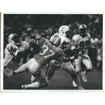 1978 Press Photo Miami Dolphins running back Delvin Williams Houston - RSH35603