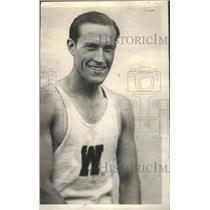 1928 Press Photo Ian Bolles Track & Field - RSC27675