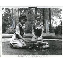 1969 Press Photo Girl Scouts Metropolitan Detroit - RRV02437