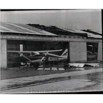1967 Press Photo Tornado touched Galt Airport Greenwood - RRX07671