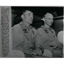 1966 Press Photo John Young Michael Collins Astronauts - RRX53737