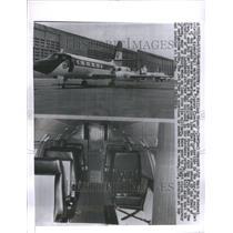 1964 Press Photo Air Plans Lockheed Corporation Co USA - RRU73479