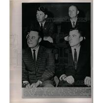 1964 Press Photo Astronaut Virgil I Grissom John Young - RRX29219
