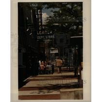 1984 Press Photo Royal Dak Street Michigan Grand Leader - RRX35197