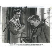 1941 Press Photo Jeffrey Lynn Thomas Mitchell Actors Flight From Destiny