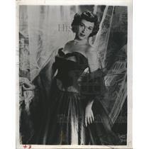 1950 Press Photo Actress Rise Stevens - RSH60295