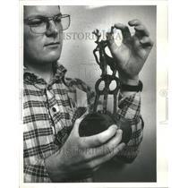 1977 Press Photo Field Museum Accheology Antifacts Iraq - RRU73923