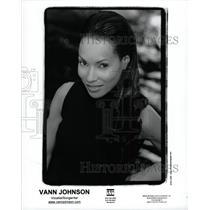 1990 Press Photo Vann Johnson singer record artist US - RRW94403