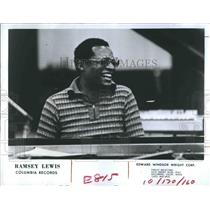 Press Photo Jazz Musician, Ramsey Lewis of Columbia Records - RSH19913