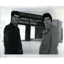 1984 Press Photo Jeff Elliott Jerry St James Dearborn - RRU91561