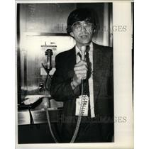 1980 Press Photo Tom McIntire, newsman. - RRX29085