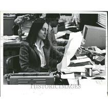 1981 Press Photo Janet Mandelstam, Detroit News editor - RRV57311