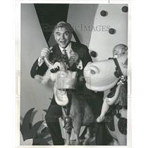 1964 Press Photo Lorne Greene Canadian Actor - RRV85737