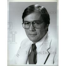 1982 Press Photo Lloyd Dobyns NBC News Reporter - RRX26637