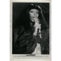 1981 Press Photo LaDonna Gaines StageName Donna Summer - RRW98391