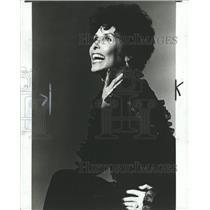 1981 Press Photo Lena Horne American Singer, Actress. - RRW31493