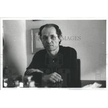 1977 Press Photo Yantis Fatsis Athens Newspaper Reporter - RSC22323