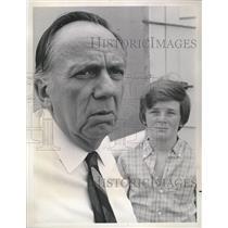 1972 Press Photo Henry Burk Jones American Actor Helen - RRV15673